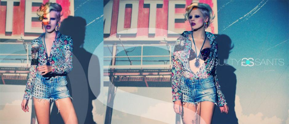 имиджевая съемка одежды для рекламы