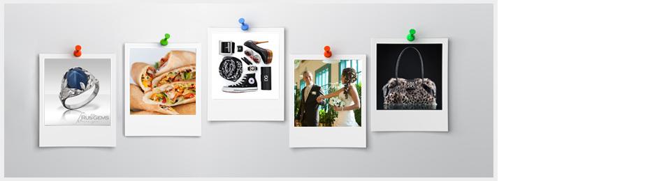 Профессиональная фотосъемка в студии для сайта интернет магазина и каталога