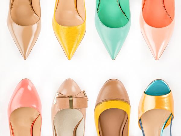 Предметная съемка обуви для сайта